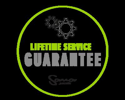 lifetime service guarantee